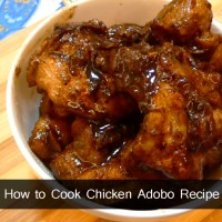 How to Cook Chicken Adobo Recipe