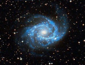 Spiral Galaxy in Antilia, photo: NASA/ESA.