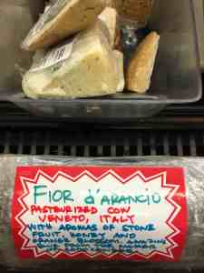 Fior D'Arancio Blue Cheese.