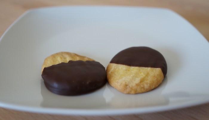 Galletas de chocolate y naranja
