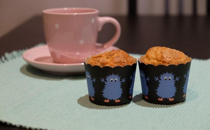 Muffins de yogur, limón y semillas de amapola