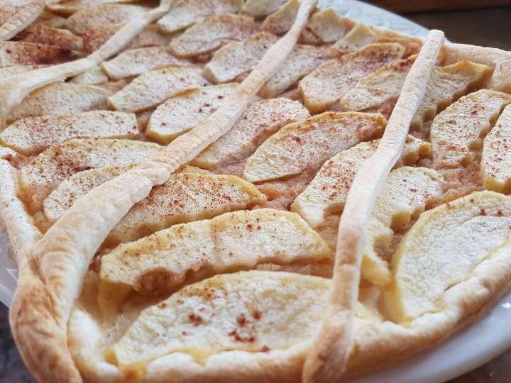 Tarta de manzana sin azucar