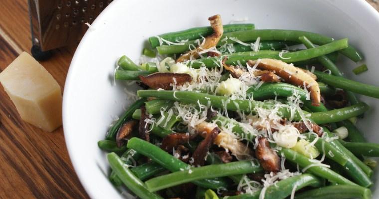 Shitake Green Beans