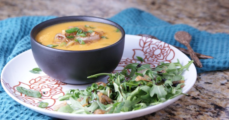 Sweet Potato Miso Soup