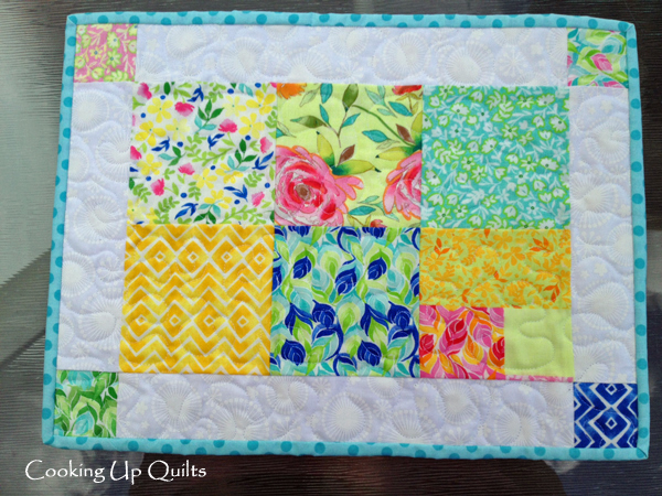 Quilted Placemats Binding