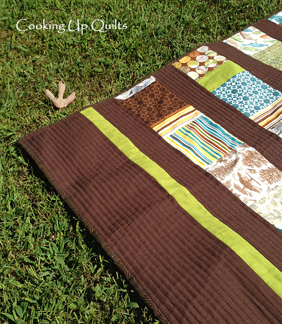 Front Quilting Detail