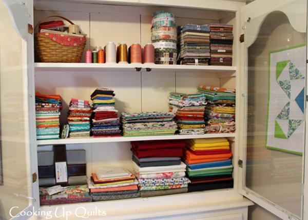 Fabric storage cabinet