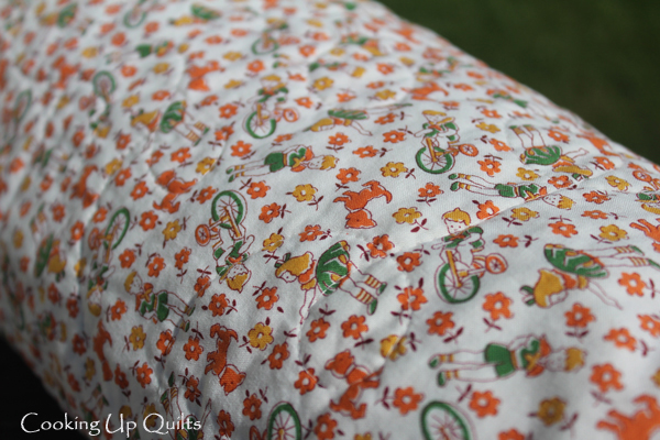 30's print backing fabric