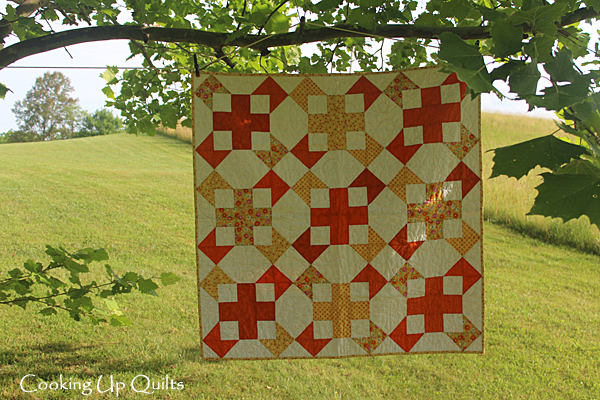 Sea Star quilt pattern