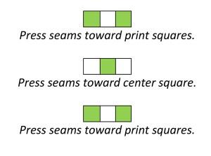 Step 1 Checker block