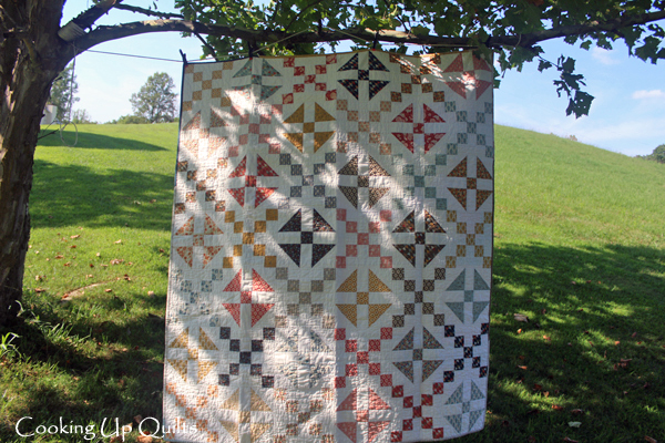 Checkered Past Quilt Front
