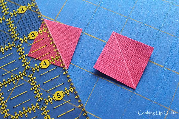 Marking diagonal lines