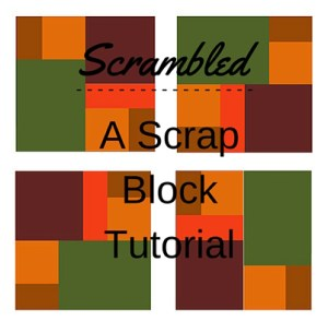 Scrambled - A Scrap Block