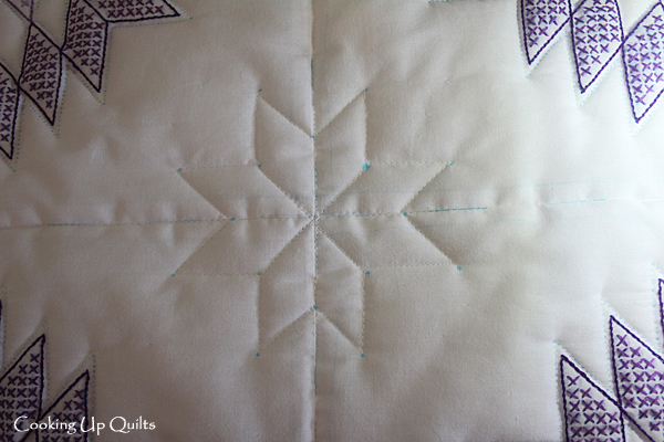 Star quilting