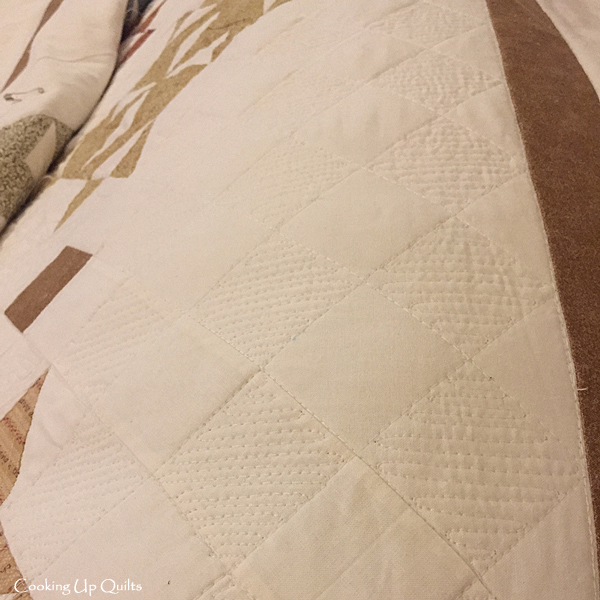 Crosshatch Quilting with Fill