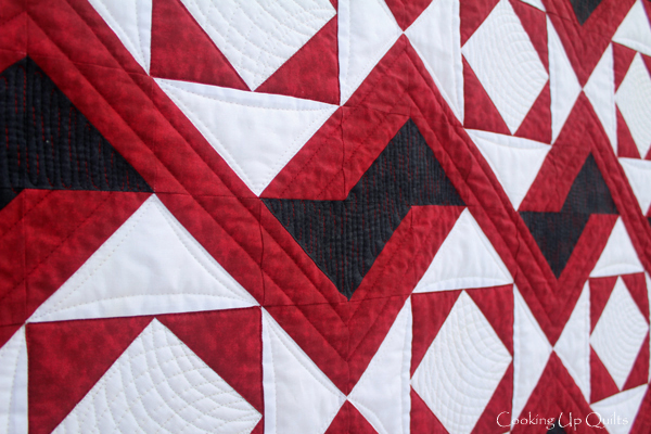 Quilt Detail Oomph Quilt Pattern