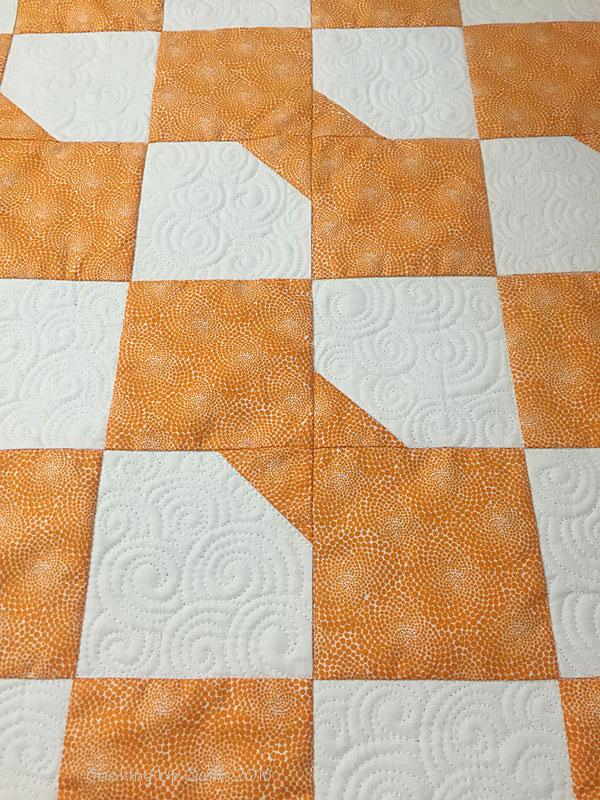Orange-Scrap-Baby-Quilt