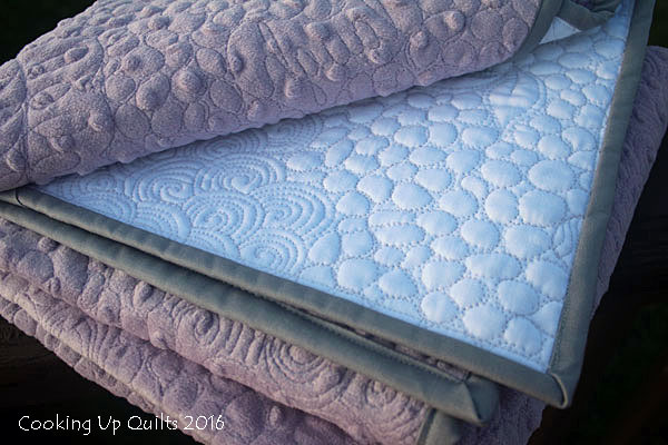 wholecloth baby quilt fmq