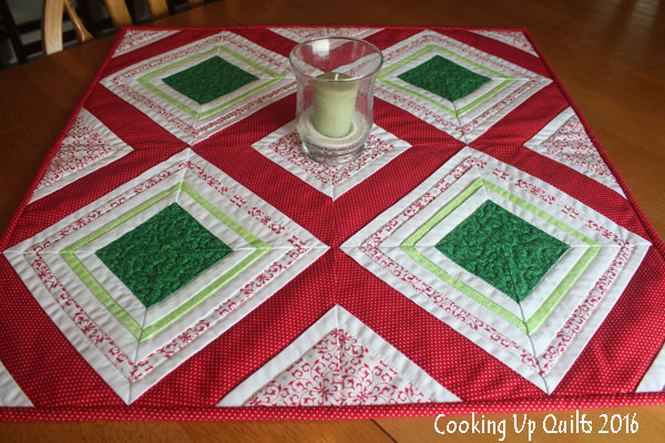 Paper Pieced Table Topper
