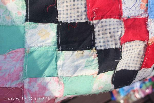 Hand Stitched Vintage Quilt