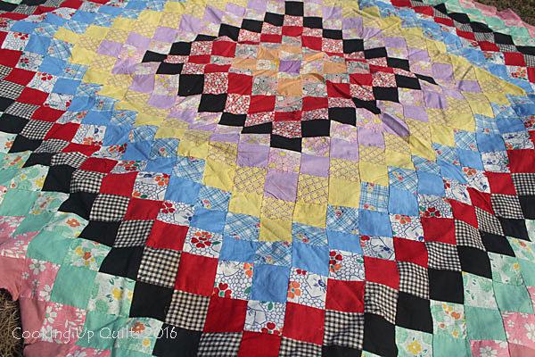 Vintage Quilt close-up