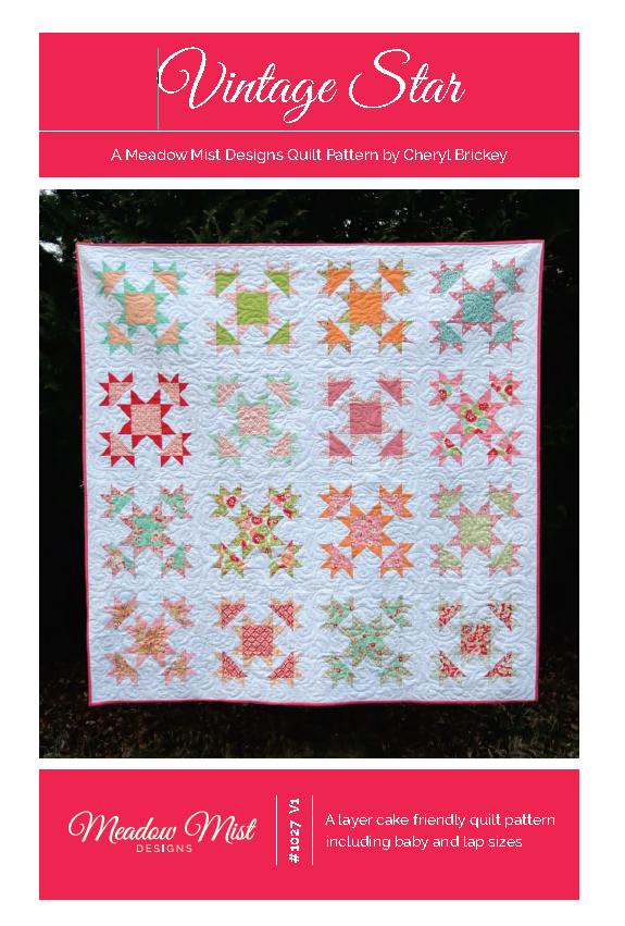 Vintage Star Quilt Pattern