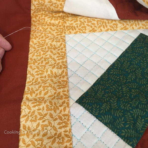 Crosshatch Quilting