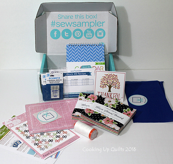 November Sew Sampler Box