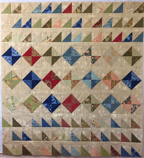 Finished HST Quilt