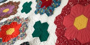 MCM #119 - More About the Grandmother's Flower Garden Quilt