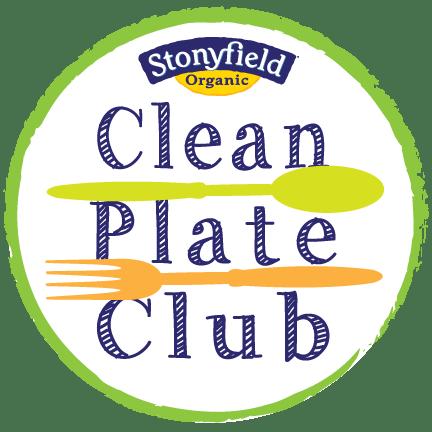 Clean Plate Club Blogger Logo 8-12 F