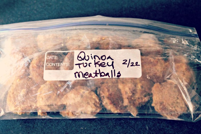 Quinoa Turkey Meatballs Frozen