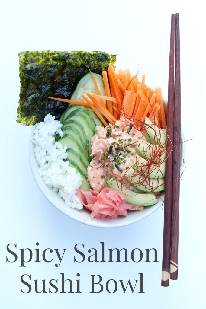 Spicy Salmon Sushi Bowl 01