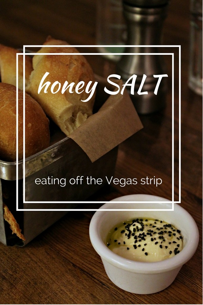 "Logo for the Las Vegas restaurant, ""honey SALT"""