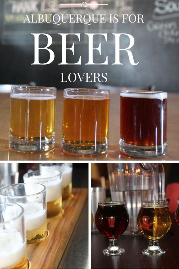 Beer Lovers Should Visit These Albuquerque Breweries - Get the complete list on CookingWithBooks.net