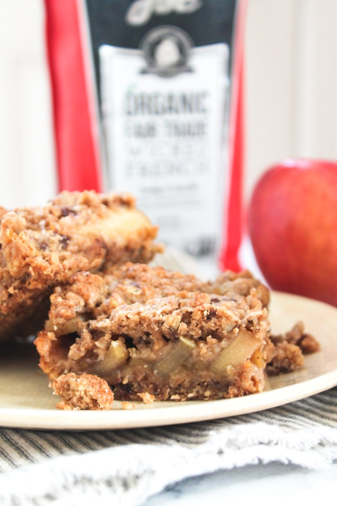 Apple Coffee Streusel Bars
