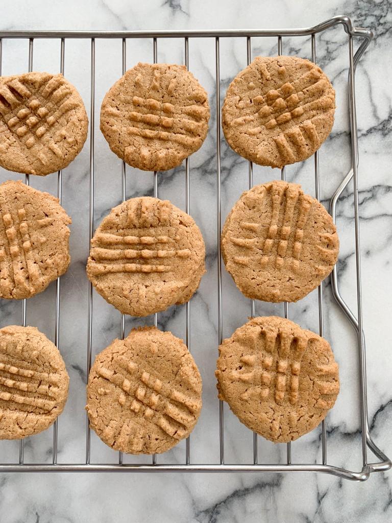 3 Ingredient Cashew Cookies-4
