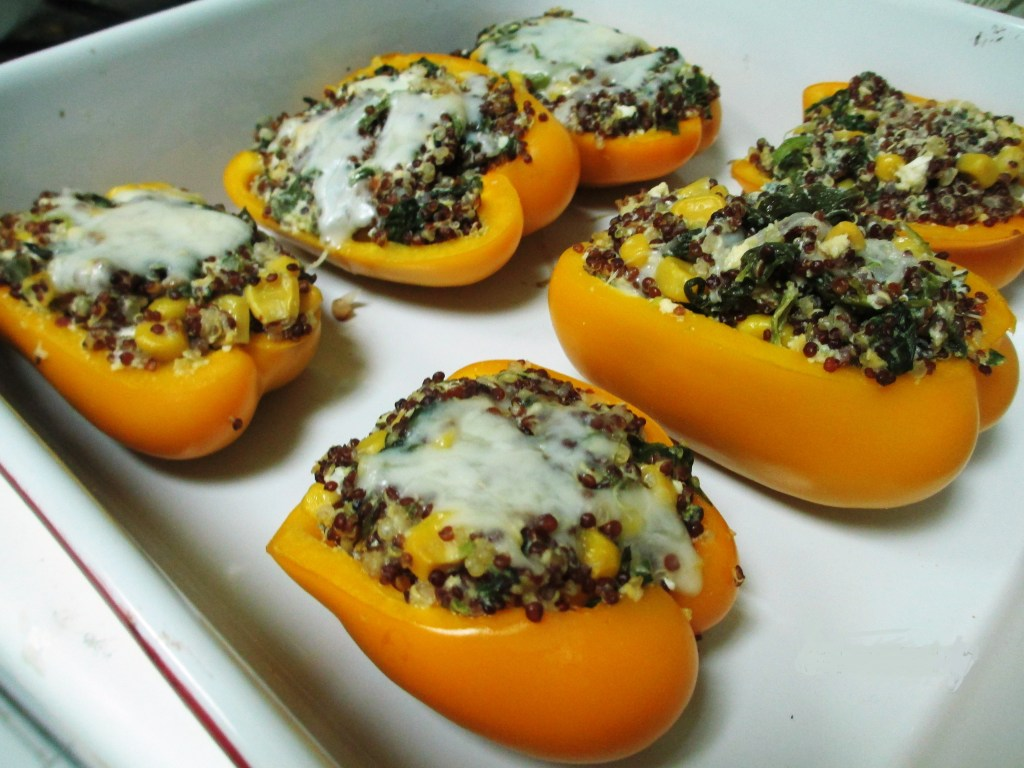 Stuffed Bell Peppers with Quinoa