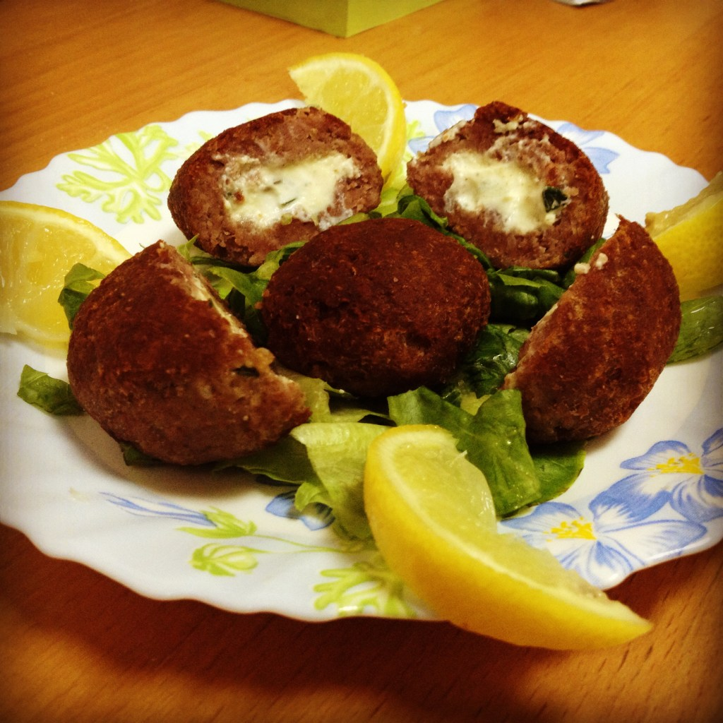 Kebbe with Cheese