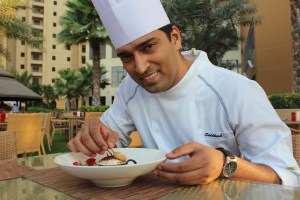 Executive Pastry Chef Siddhesh