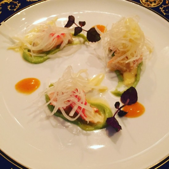 crab and endive