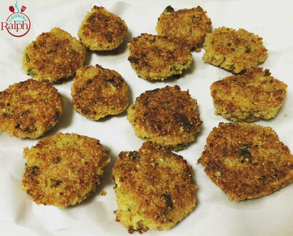 Healthy Quinoa Falafel