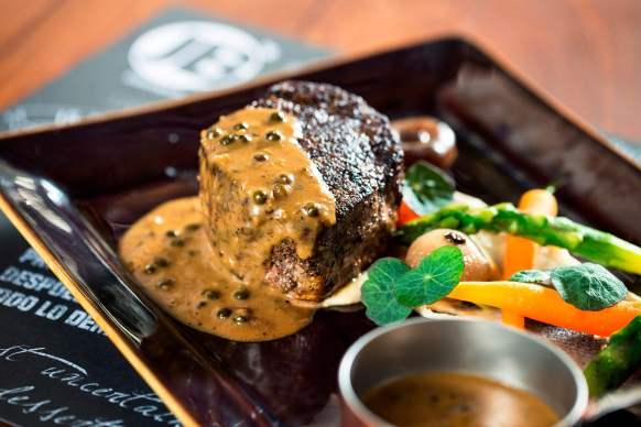 Steak n Chips at JB's Gastropub, Amwaj Rotana, Dubai
