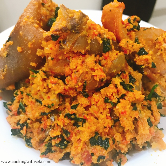 Egusi Soup Fried Method Excellent Nigerian Meals