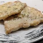 Pasta pesto funghi e pancetta