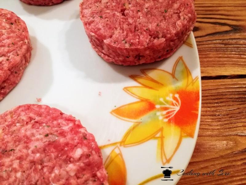 hamburger di carne fatti in casa