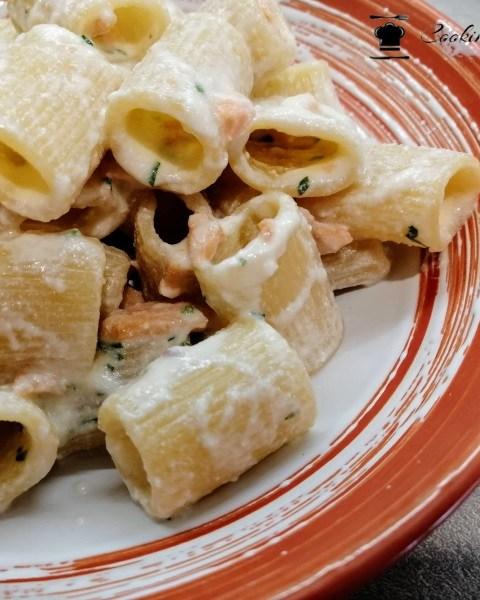pasta con salmone e ricotta