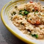 Spiedini di pesce al forno gratinati