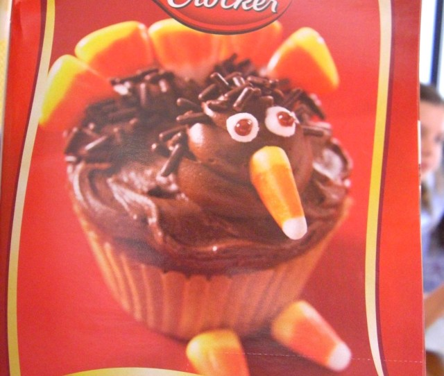 Turkey Cupcakes Recipe For Thanksgiving From Betty Crocker