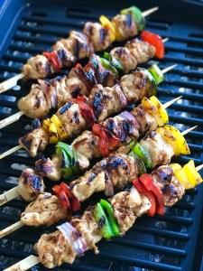Spicy Mango Habanero Chicken Kabob